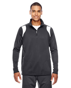 Sp Graphite/ Wht Men's Elite Performance Quarter-Zip