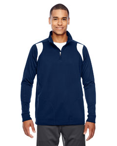 Sp Dk Navy/wht Men's Elite Performance Quarter-Zip