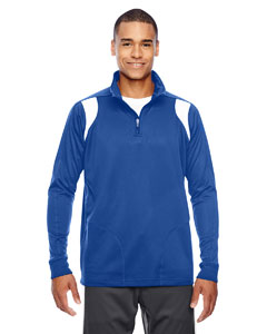 Sp Royal/wht Men's Elite Performance Quarter-Zip