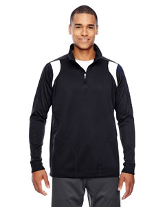 Black/white Men's Elite Performance Quarter-Zip