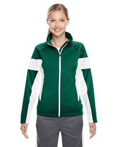 Sp Forest/wht Ladies' Elite Performance Full-Zip