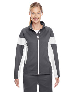 Sp Graphite/ Wht Ladies' Elite Performance Full-Zip