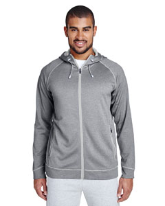 Ath Hth/ Sp Silv Men's Excel Performance Fleece Jacket