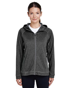D Gry Hth/ Sp Gr Ladies' Excel Performance Fleece Jacket