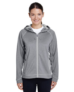 Ath Hth/ Sp Silv Ladies' Excel Performance Fleece Jacket