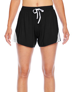 Black Ladies' All Sport Short