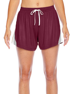Sport Maroon Ladies' All Sport Short