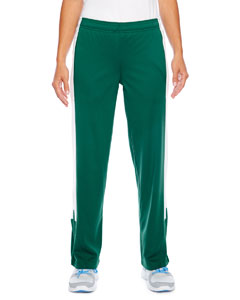 Sp Forest/ White Ladies' Elite Performance Fleece Pant