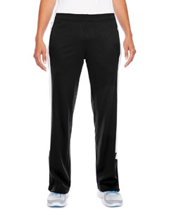 Black/white Ladies' Elite Performance Fleece Pant
