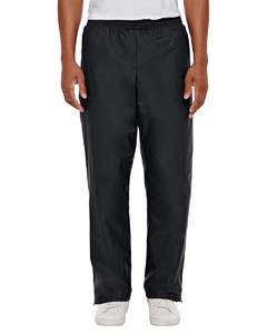 Black Men's Conquest Athletic Woven Pants