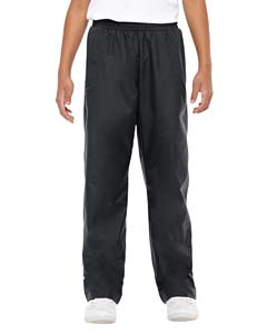 Black Youth Conquest Athletic Woven Pants