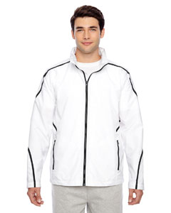 White Men's Conquest Jacket with Mesh Lining