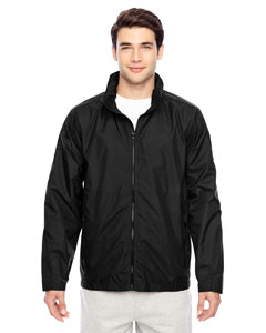Black Men's Conquest Jacket with Mesh Lining