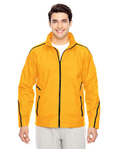 Sp Athletic Gold Men's Conquest Jacket with Mesh Lining