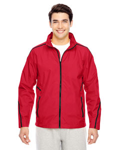 Sport Red Men's Conquest Jacket with Mesh Lining
