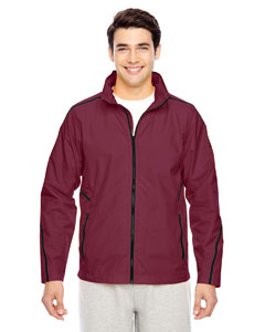 Sport Maroon Men's Conquest Jacket with Mesh Lining