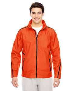 Sport Orange Conquest Jacket with Mesh Lining