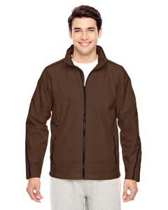 Sport Dark Brown Men's Conquest Jacket with Mesh Lining