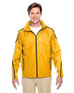 Sp Athletic Gold Conquest Jacket with Fleece Lining