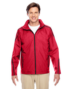 Sport Red Conquest Jacket with Fleece Lining