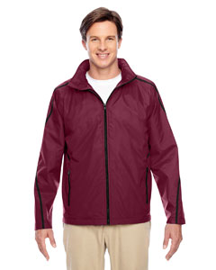 Sport Maroon Conquest Jacket with Fleece Lining
