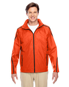 Sport Orange Conquest Jacket with Fleece Lining