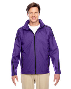 Sport Purple Conquest Jacket with Fleece Lining