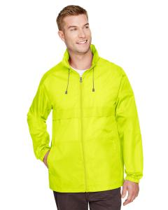 Safety Yellow Adult Zone Protect Lightweight Jacket