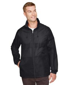 Black Adult Zone Protect Lightweight Jacket