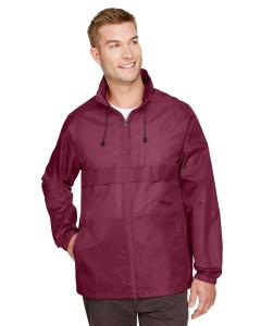 Sport Maroon Adult Zone Protect Lightweight Jacket