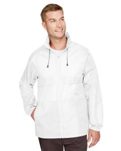 White Adult Zone Protect Lightweight Jacket