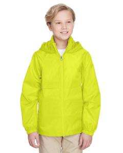 Safety Yellow Youth Zone Protect Lightweight Jacket