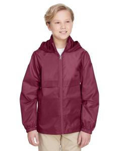 Sport Maroon Youth Zone Protect Lightweight Jacket