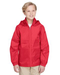 Sport Red Youth Zone Protect Lightweight Jacket