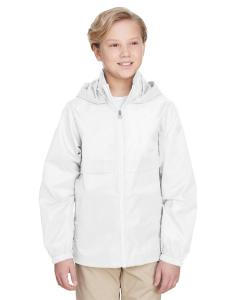 White Youth Zone Protect Lightweight Jacket
