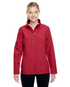 Sp Scarlet Red Ladies' Leader Soft Shell Jacket