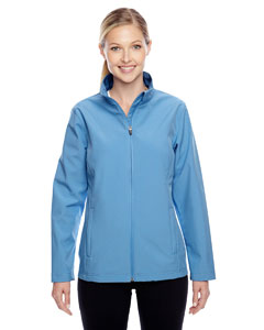 Sport Light Blue Ladies' Leader Soft Shell Jacket