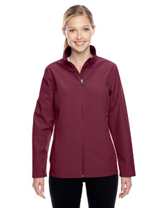 Sport Maroon Ladies' Leader Soft Shell Jacket