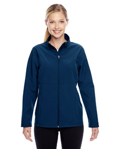 Sport Dark Navy Ladies' Leader Soft Shell Jacket