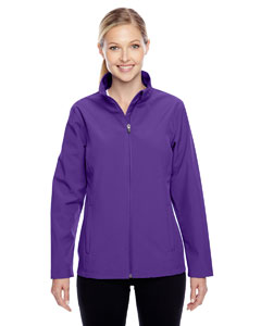 Sport Purple Ladies' Leader Soft Shell Jacket