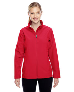 Sport Red Ladies' Leader Soft Shell Jacket