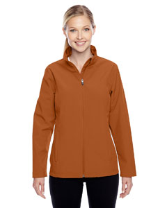 Sport Bnrt Ornge Ladies' Leader Soft Shell Jacket