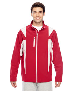 Sp Red/sp Silver Men's Icon Colorblock Soft Shell Jacket