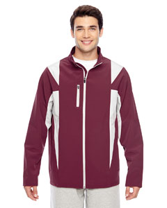 Sp Maroon/sp Sil Men's Icon Colorblock Soft Shell Jacket