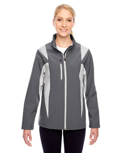 Sp Graph/sp Sil Ladies' Icon Colorblock Soft Shell Jacket
