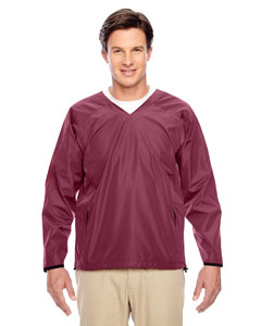Sport Maroon Men's Dominator Waterproof Windshirt
