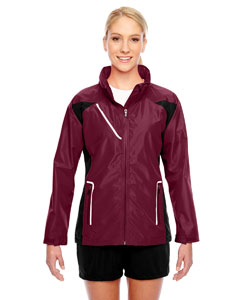 Sport Maroon Ladies' Dominator Waterproof Jacket