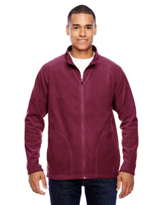 Sport Maroon Men's Campus Microfleece Jacket