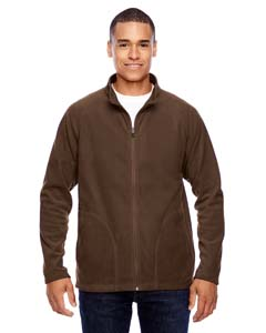 Sport Dark Brown Men's Campus Microfleece Jacket
