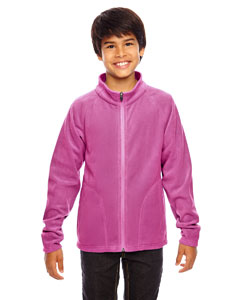 Sport Chrty Pink Youth Campus Microfleece Jacket